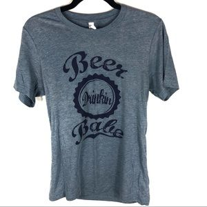 Tops - Beer drinking babe F15